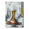 Gallery Direct 'Liquid Forms I' by T. Graham Painting Print on Wrapped Canvas