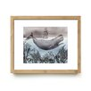 Mai Autumn The Sea by Christine Lindstrom Framed Painting Print
