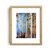 Mai Autumn Fall Leaves by Christine Lindstrom Framed Painting Print
