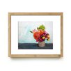 Mai Autumn Summer Bouquet by Christine Lindstrom Framed Painting Print