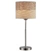 "Lite Source Relaxxar 20"" H Table Lamp with Drum Shade"