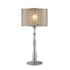 "Lite Source Optiska 25"" H Table Lamp with Drum Shade"