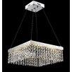 Lite Source Alecia II 24 Light Crystal Chandelier