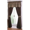 Regal Home Collection Unique Curtain Panel with Tie Backs