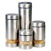 Longden Enterprises Inc Rotunda 4 Piece Storage Canister Set