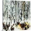 Great Big Canvas Into the Birches by Sydney Edmunds Painting on Canvas