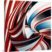 """Great Big Canvas """"Passione Annodata"""" by Gilbert Claes Graphic Art on Canvas"""