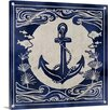 Great Big Canvas Ink Anchor by Edward Selkirk Graphic Art on Wrapped Canvas