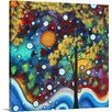 Great Big Canvas 'In the Garden' by Megan Duncanson Painting Print on Wrapped Canvas