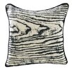 ModShop Woodgrain Linen Throw Pillow
