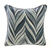 ModShop Feather Zigzag Linen Throw Pillow