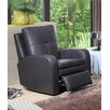 Hyde Line Furniture Sarah Genuine Leather Recliner