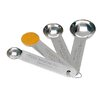 Zodiac Stainless Products 4 Piece Stainless Steel Measuring Spoon Set