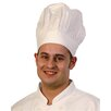 Zodiac Stainless Products Cotton Tall Chef Hat