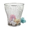 Zodiac Stainless Products Wire Waste Paper Basket