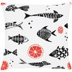 Apelt Fische Cotton Pillowcase