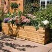 6.5 ft x 1.5 ft Wood Planter Box - Rowlinson Planters