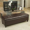 Home Loft Concepts Edmond Storage Ottoman with Tray