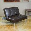 Home Loft Concepts Castletown Click-Clack Oversized Convertible Chair