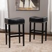 """Home Loft Concepts Lisette 30.31"""" Bar Stool with Cushion (Set of 2)"""