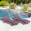 Home Loft Concepts Kauai Chaise Lounge II (Set of 2)