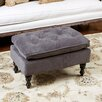 Home Loft Concepts Cameron Tufted Ottoman