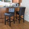 "Home Loft Concepts Princeton 30"" Bar Stool with Cushion (Set of 2)"