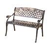 Alcott Hill Closson Cast Aluminum Garden Bench
