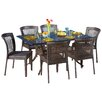 Home Loft Concepts Rowan 7 Piece Outdoor Dining Set