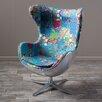 Home Loft Concepts Gordon Swivel Balloon Chair
