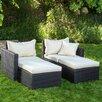 Home Loft Concepts Pinecrest 2 Piece Chaise Lounge Set with Cushion