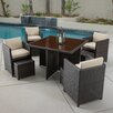 Home Loft Concepts Marmont 5 Piece Seating Group with Cushions