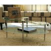 Home Loft Concepts Glass Oval Coffee Table