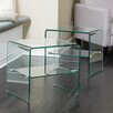 Home Loft Concepts Glass End Table