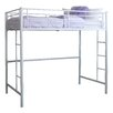 Home Loft Concepts Metal Twin Loft Bed