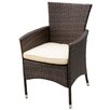 Home Loft Concepts McClure Dining Arm Chair with Cushion (Set of 2)