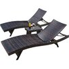 Home Loft Concepts Halulu 3 Piece Chaise Lounge Set