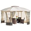 Home Loft Concepts Polina 13 Ft. W x 13 Ft. D Polyester Gazebo