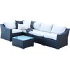 Home Loft Concepts 6 Piece Seating Group with Cushions