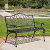 Home Loft Concepts Ramsey Spiral Cast Aluminum Outdoor Bench