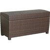 Home Loft Concepts Managua Outdoor 70 Gallon Wicker Deck Box