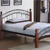 Hazelwood Home Sam Twin Wrought Iron Bed