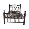 Hazelwood Home Twin Wrought Iron Bed