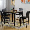 Hazelwood Home 5 Piece Dining Set