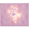 Illuminated Canvas Ballerina Graphic Art on Canvas