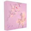 Illuminated Canvas Fairy Graphic Art on Canvas