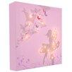 Illuminated Canvas Leinwandbild Fairy, Grafikdruck