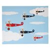 Illuminated Canvas Bi-Planes Graphic Art on Canvas
