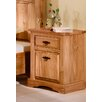 Henke Collection Mexican 1 Drawer Nightstand