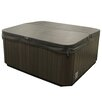 American Spas 6-Person 56-Jet Lounger Spa with Bluetooth Stereo System with Subwoofer and Backlit LED Waterfall